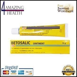 Betosalic Ointment Betamethasone Valerate 0.1 g