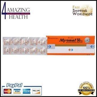 Eperisone 50mg - Myonal tablet